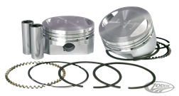 KITS PISTONS FORGES WISECO POUR BUELL