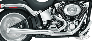 KERKER 2-INTO-1 SUPERMEGS FOR SOFTAIL AND DYNA