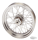 WHEEL ASSEMBLIES WITH CHROME PLATED STEEL HUBS FOR 1984 THRU 1999 MODELS