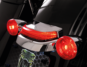 CIRO CROWN TAILLIGHT FOR TOURING MODELS