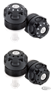 ROLAND SANDS DESIGN MISANO FORK PRELOAD ADJUSTERS