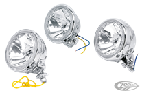 AUXILIARY LIGHTS WITH DIAMOND CUT REFLECTOR