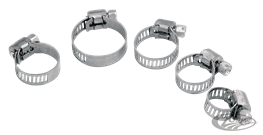 STAINLESS STEEL UNIVERSAL HOSE CLAMPS
