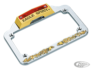 EAGLE SPIRIT LICENSE PLATE FRAME WITH LIGHT