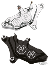 PERFORMANCE MACHINE 4 PISTON FRONT CALIPERS WITH DIFFERENTIAL BORE