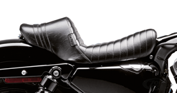 LE PERA'S STUBS SPOILER SEAT FOR SPORTSTER