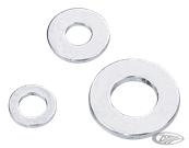 SPECIAL SIZE CHROME-PLATED FLAT WASHERS