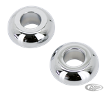 CHROME FRONT WHEEL SPACERS FOR TOURING