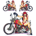 "LETHAL THREAT ""BIKE TATTOOS"" DESIGNS AND TANK DECALS"