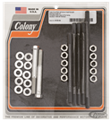 COLONY CRANKCASE FASTENER KITS FOR BIG TWIN FLATHEAD