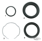 FRONT FORK SEALS AND SEAL KITS FOR 41MM FORKS ON 2000 THRU 2007 DEUCE