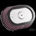 K&N STREET METAL OVAL AIR CLEANER FOR MILWAUKEE EIGHT