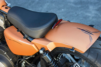 RICK'S STEEL REAR FENDERS FOR SPORTSTER