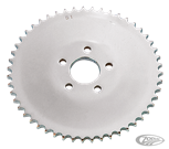 CHROME PLATED SOLID REAR SPROCKETS
