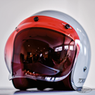 VISORS FOR OPEN FACE HELMETS