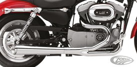SCARICHI KERKER 2 IN 1 SUPERMEGS PER SPORTSTER