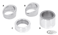 PM CONTOUR HAND CONTROL SPACERS