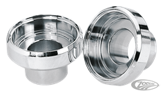CHROME STEERING HEAD BEARING CUPS