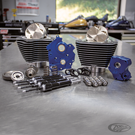S&S 124CI AND 128CI POWER PACKAGES FOR MILWAUKEE EIGHT