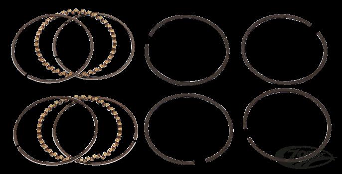 Hastings 2M5520S Single Cylinder Piston Ring Set