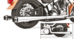 FREEDOM PERFORMANCE AMERICAN OUTLAW DUAL EXHAUST SYSTEMS