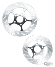 TOLLE CHROME FIVE SPOKE DISC ROTORS