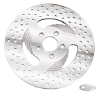 "REV""O""LUTION ""DIRECTIONAL"" DRILLED POLISHED DISC BRAKE ROTORS"
