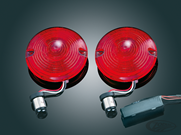 RED TWO CIRCUIT LED TURN SIGNAL INSERTS