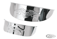 EMBOSSED EAGLE VISORS