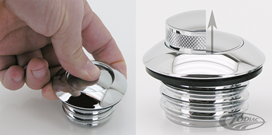 POP-UP SCREW-IN STYLE GAS CAPS