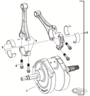 X-WEDGE CRANKSHAFT & CONNECTING RODS