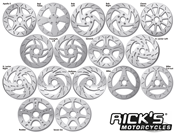RICK'S STAINLESS STEEL DISC BRAKE ROTORS