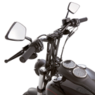 ARLEN NESS DIAMOND FORGED BILLET MIRRORS