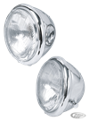 "5 1/2"" CHROME BATES STYLE HEADLIGHTS"