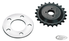OFF-SET SPROCKET KIT FOR 1984 THRU 1990 SPORTSTER MODELS
