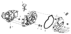 LOWER END PARTS FOR 1977 THRU 1990 XL MODELS