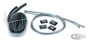 STAINLESS STEEL BRAIDED WIRING HARNESSES