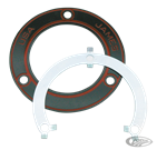 JAMES' STEEL-CORE INNER PRIMARY TO CRANKCASE GASKET