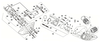 S&S SINGLE BORE TUNED INDUCTION REPLACEMENT PARTS