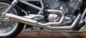 BSL 2 INTO 1 EXHAUST SYSTEM FOR V-ROD