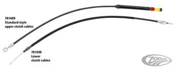 CLUTCH CABLES FOR MILWAUKEE EIGHT