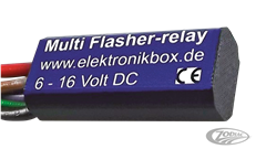 MINI ELEKTRONIC TURN SIGNAL FLASHER