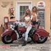 CALENDARIO CUSTOM MOTORCYCLE PIN-UP IRON & LACE