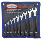 9-PIECE INCH SIZE COMBINATION WRENCH SET