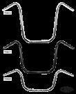 WESTLAND CUSTOMS 7/8 INCH (22MM) DIAMETER APE HANGER HANDLEBARS