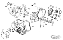 LOWER END PARTS FOR 1991 THRU 2003 XL MODELS