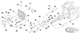 CAM CHAIN PARTS FOR EARLY TWIN CAM MODELS