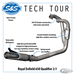 S&S QUALIFIER 2-INTO-1 EXHAUST SYSTEM FOR ROYAL ENFIELD 650 TWINS