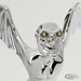 WINGED SKULLED ORNAMENT