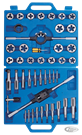 45-PIECE UNC & UNF SIZE TAP AND DIE SET